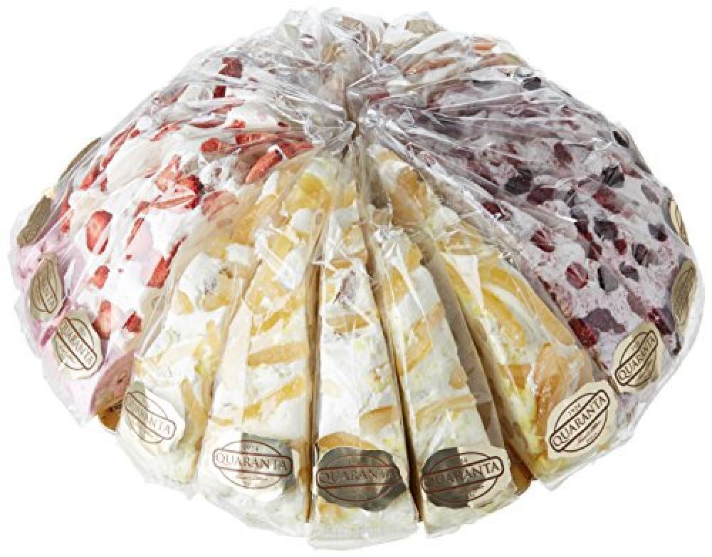 Quaranta Nougat Cake Slice LUCKY DIP 165g
