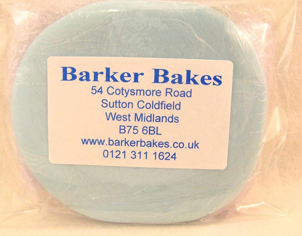Barker Bakes Gelatine Free Baby Blue Flowerpaste for Cake Decorating 200 g