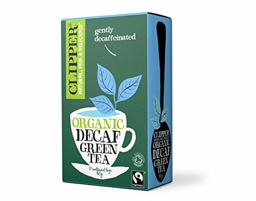 Clipper Decaf Green Tea 20 Bags Damaged Box