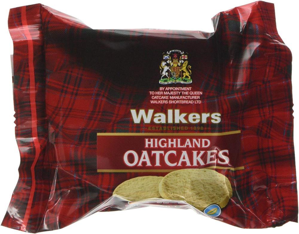 Walkers Shortbread Highland Oatcakes 75g