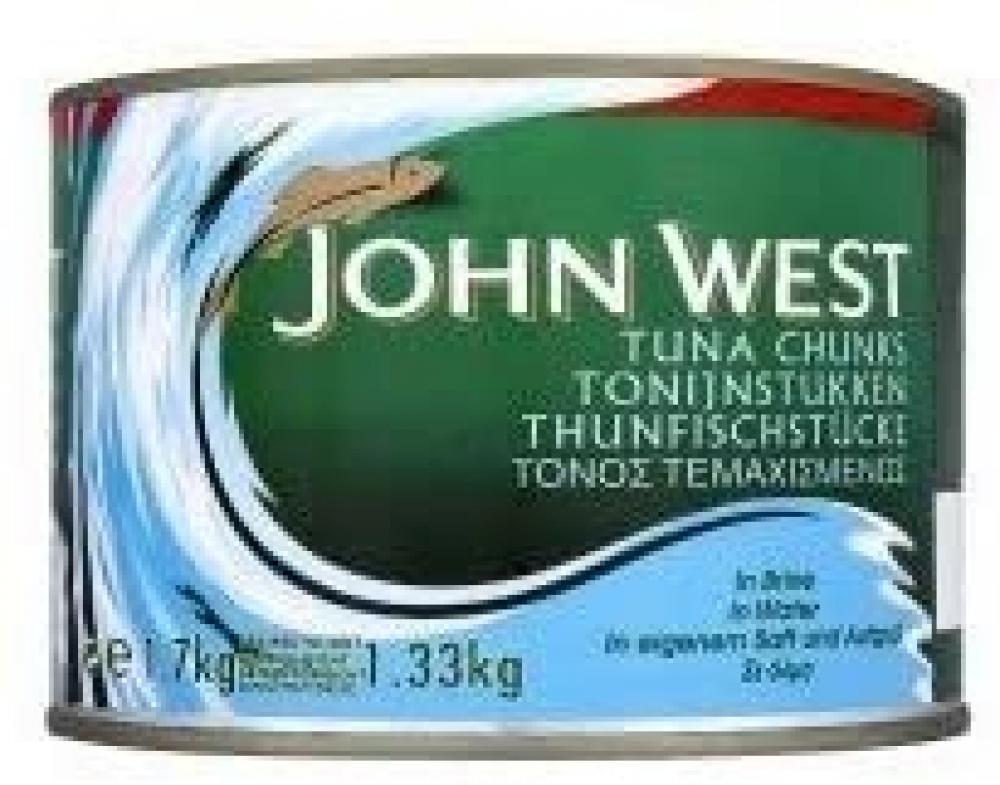 John West Tuna Chunks In Brine 1.33 kg