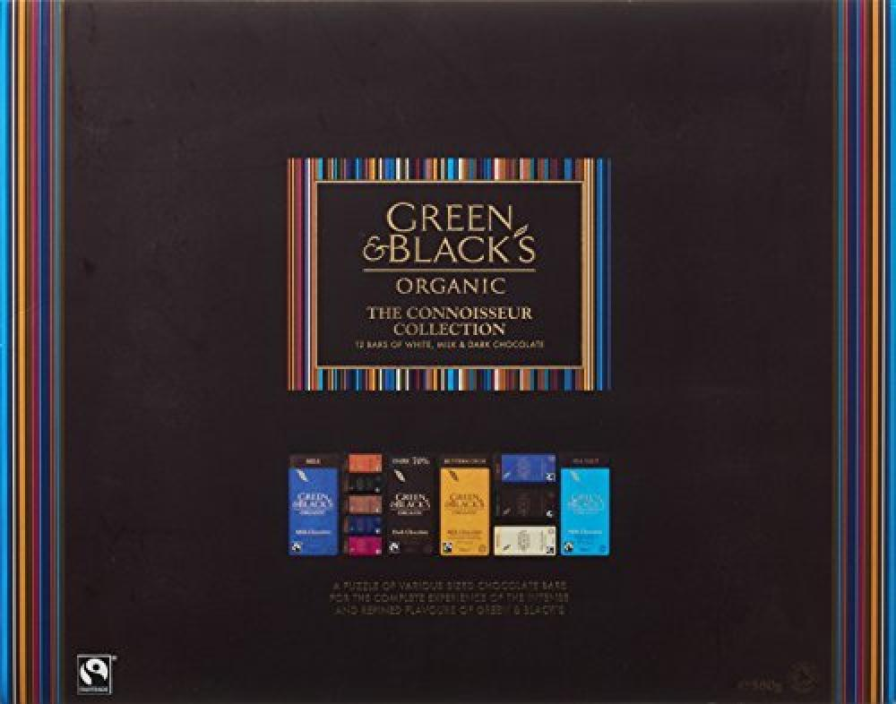 Green and Blacks Organic Connoisseur Collection 580g