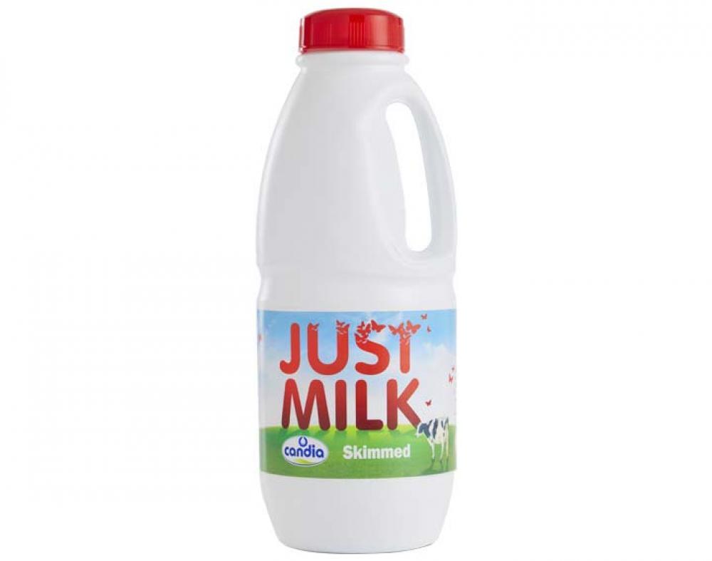 Candia Just Milk Skimmed Long Life Milk 1L