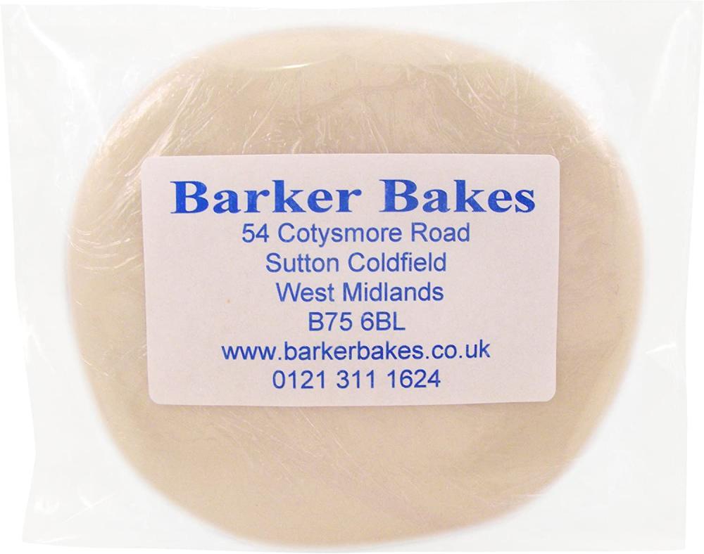 Barker Bakes Gelatine Free Natural White Flowerpaste for Cake Decorating 200g