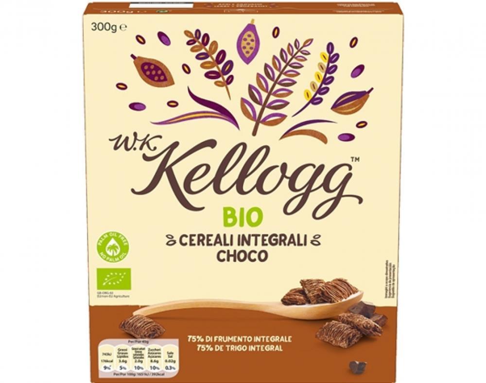 Kelloggs WK Bio Chocolate Cereal 300g