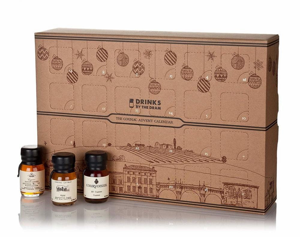 Drinks By The Dram The Cognac Advent Calendar 24x3cl