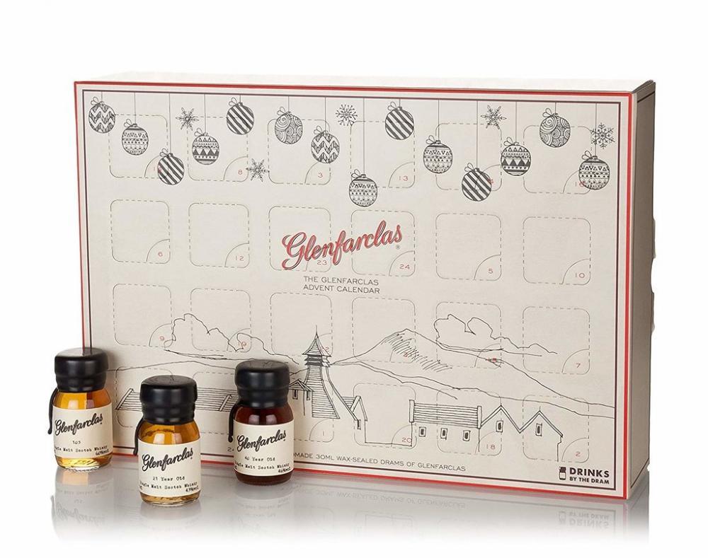 Drinks By The Dram The Glenfarclas Whisky Advent Calendar 24 x 3 cl