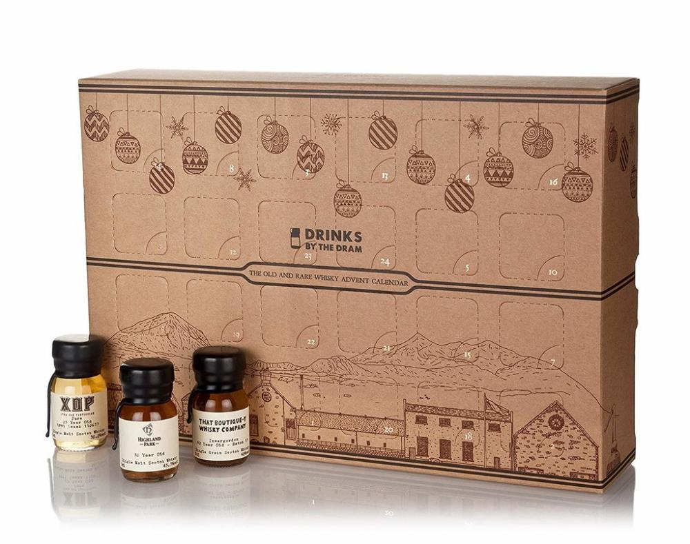 Drinks By The Dram The Old and Rare Whisky Advent Calendar 24 x 3 cl