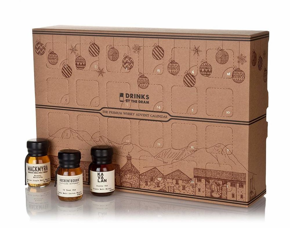 Drinks By The Dram The Premium Whisky Advent Calendar 24x3cl