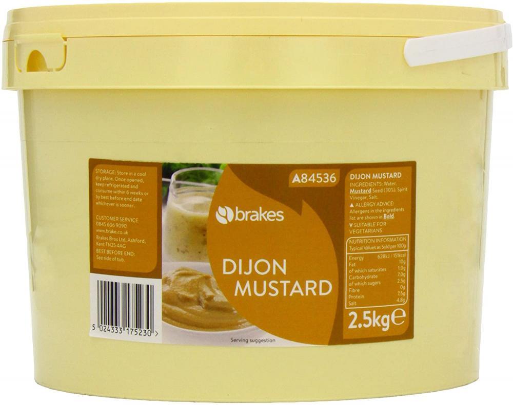 Brakes Dijon Mustard 2.5kg