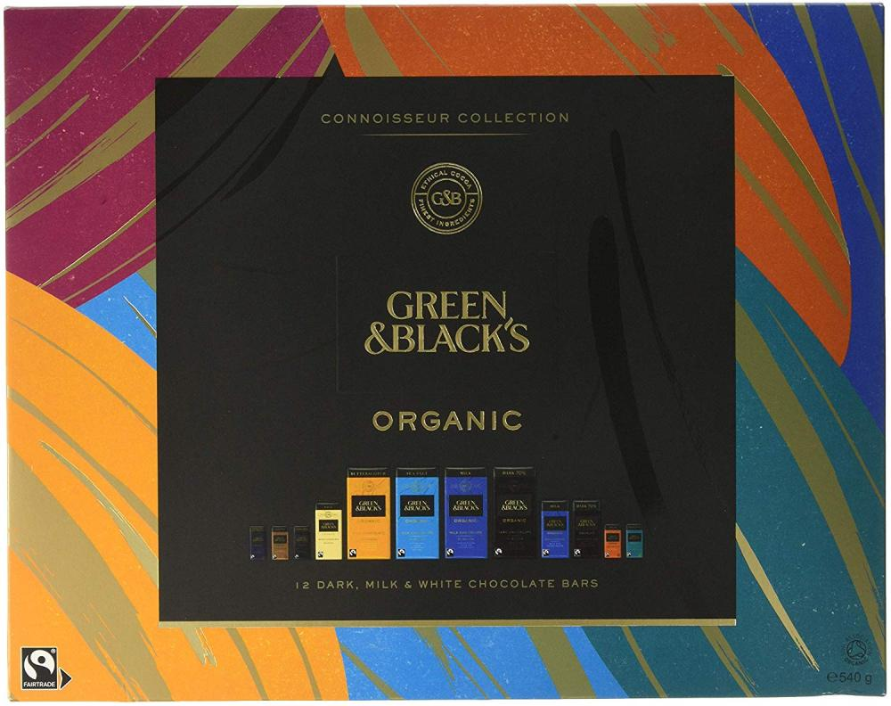 Green and Blacks Organic Tasting Collection Boxed Chocolate 540g