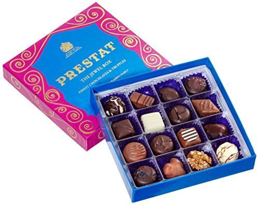 Prestat Fine Chocolate Assortment in Large Jewel Box 210g