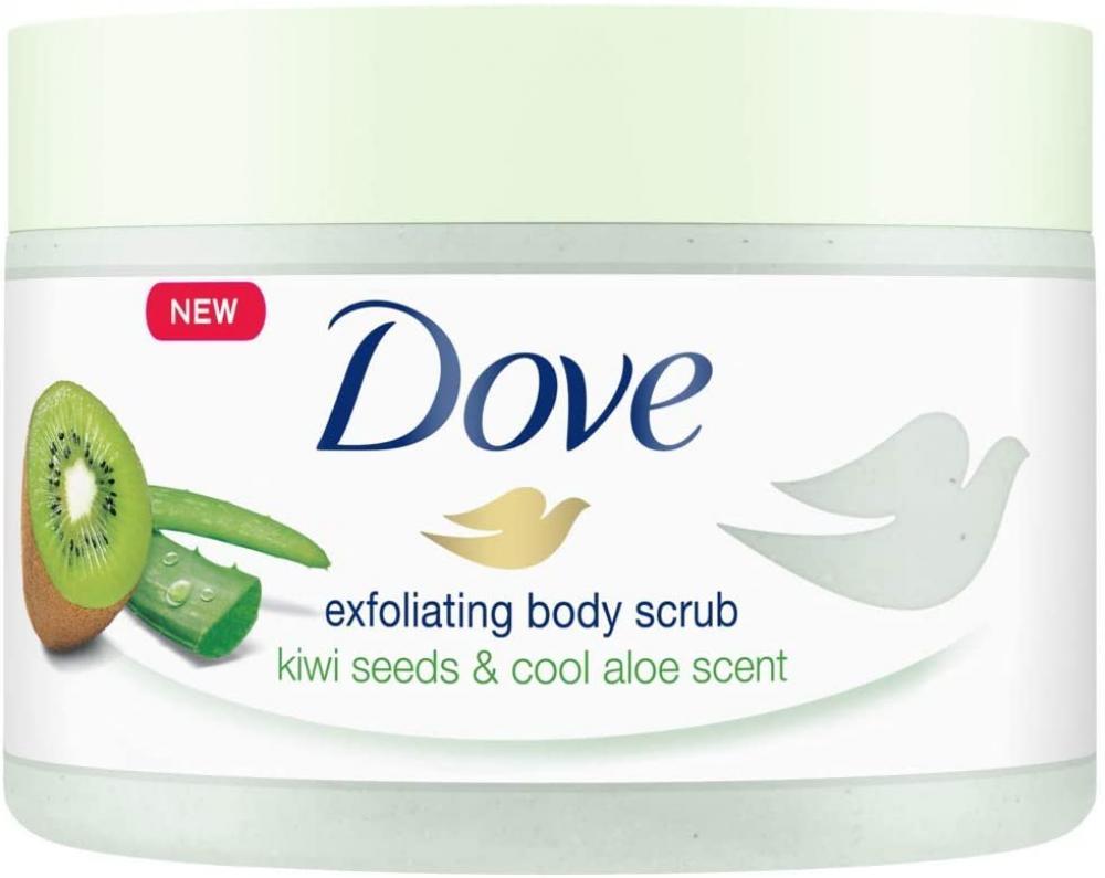 Dove Body Scrub with Kiwi and Aloe 225ml