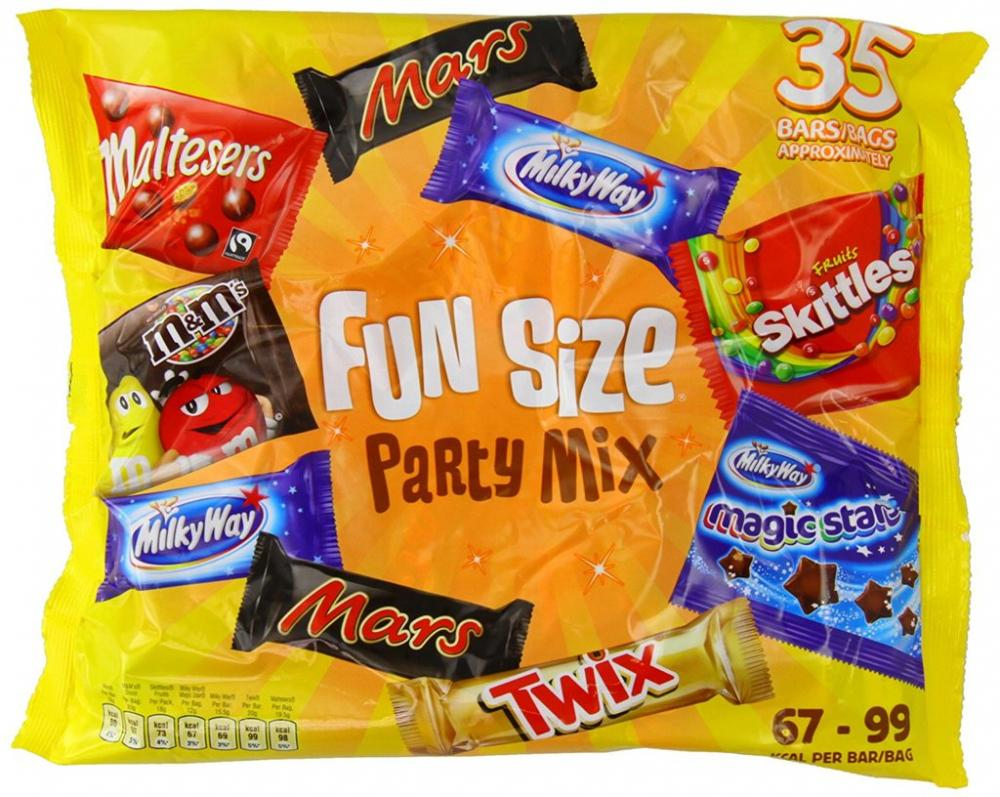 Mars Variety Funsize Party Mix 600 g