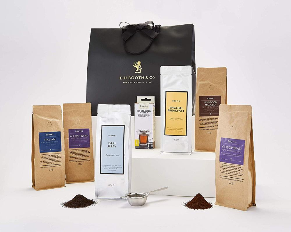 Booths Tea And Coffee Taster In Gift Bag 7 Products
