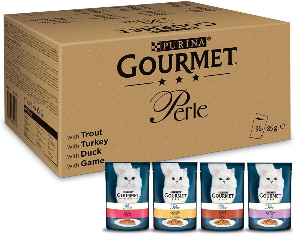 Purina Gourmet Perle Variety Pack 96 x 85g