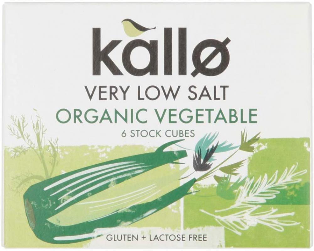 Kallo Very Low Salt Vegetable Stock 60g