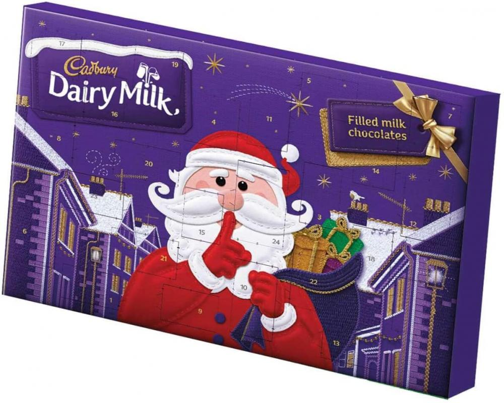 SALE  Cadbury Milk Advent Calendar Treat 200g
