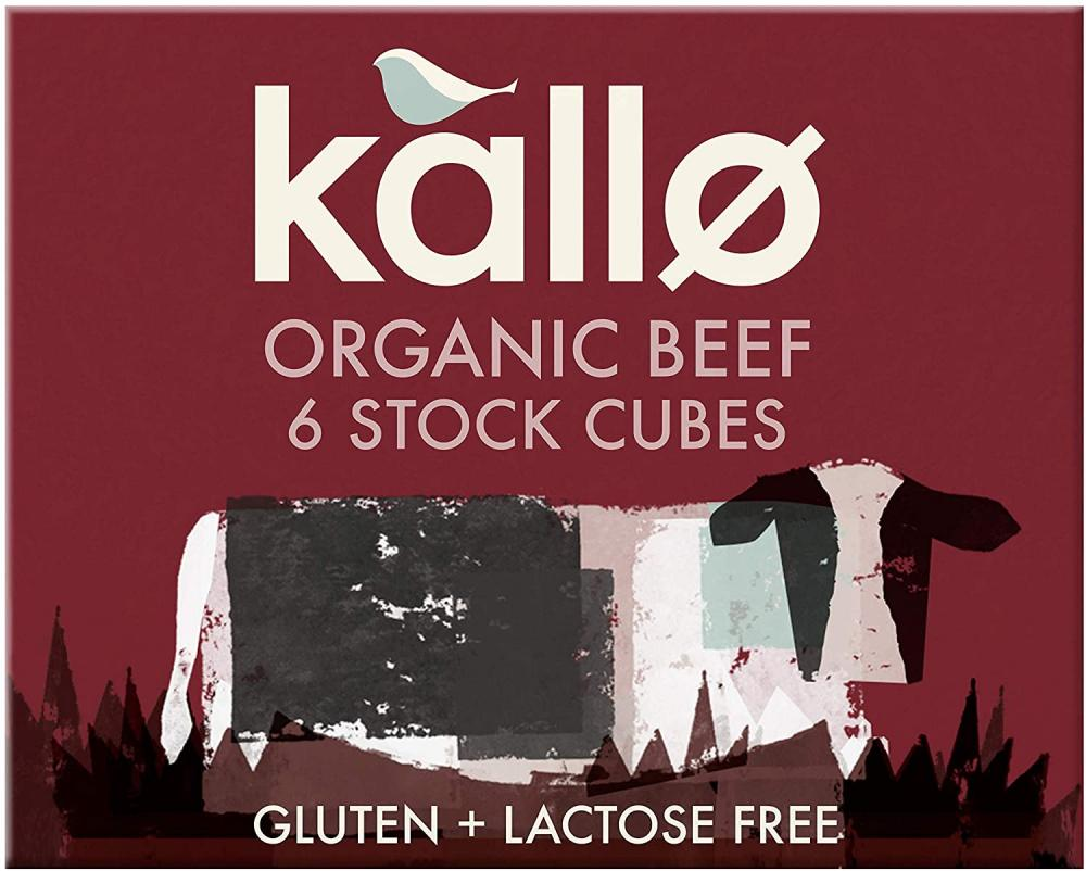 Kallo Organic Beef Stock Cubes 66g