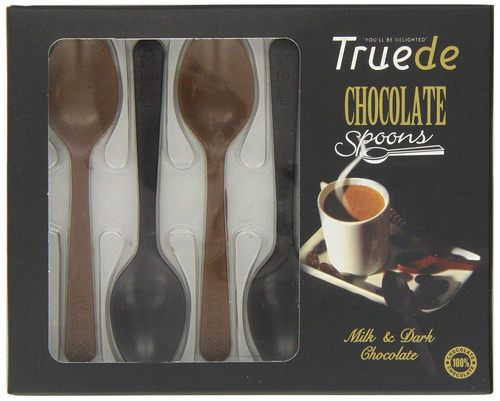 Truede Choco Spoons in a Display Box 54g