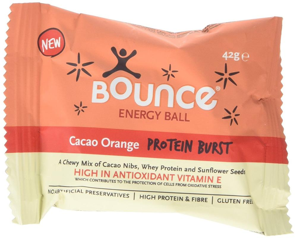 Bounce Foods Cacao Orange Protein Burst Energy Balls 42 g