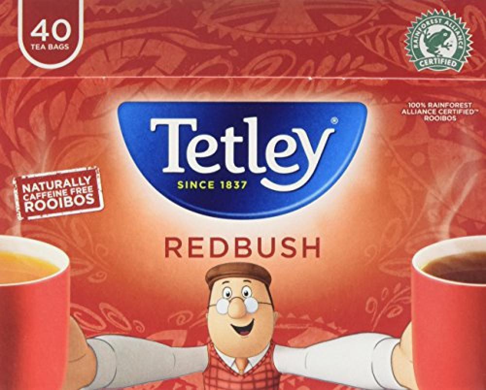 Tetley Redbush 40 Teabags 100g