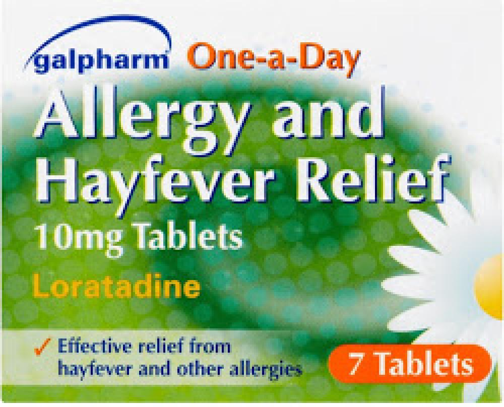 Galpharm One a Day Allergy and Hayfever Relief 7 Tablets