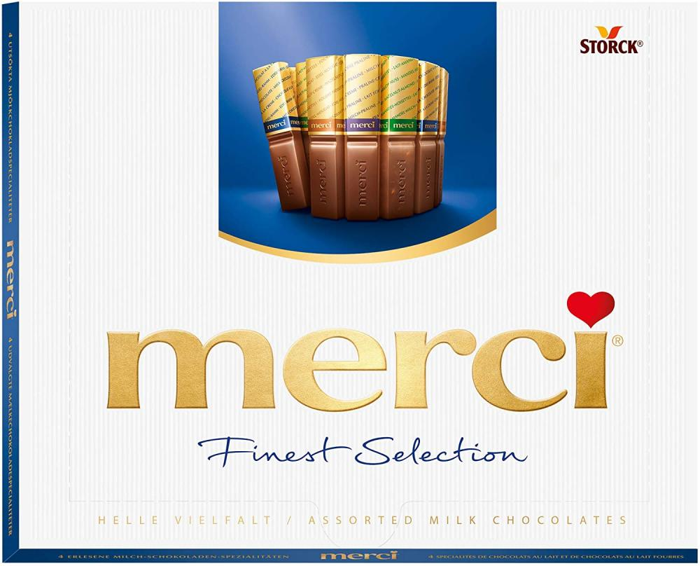 SALE  Storck Merci Finest Selection Of Chocolates 250g