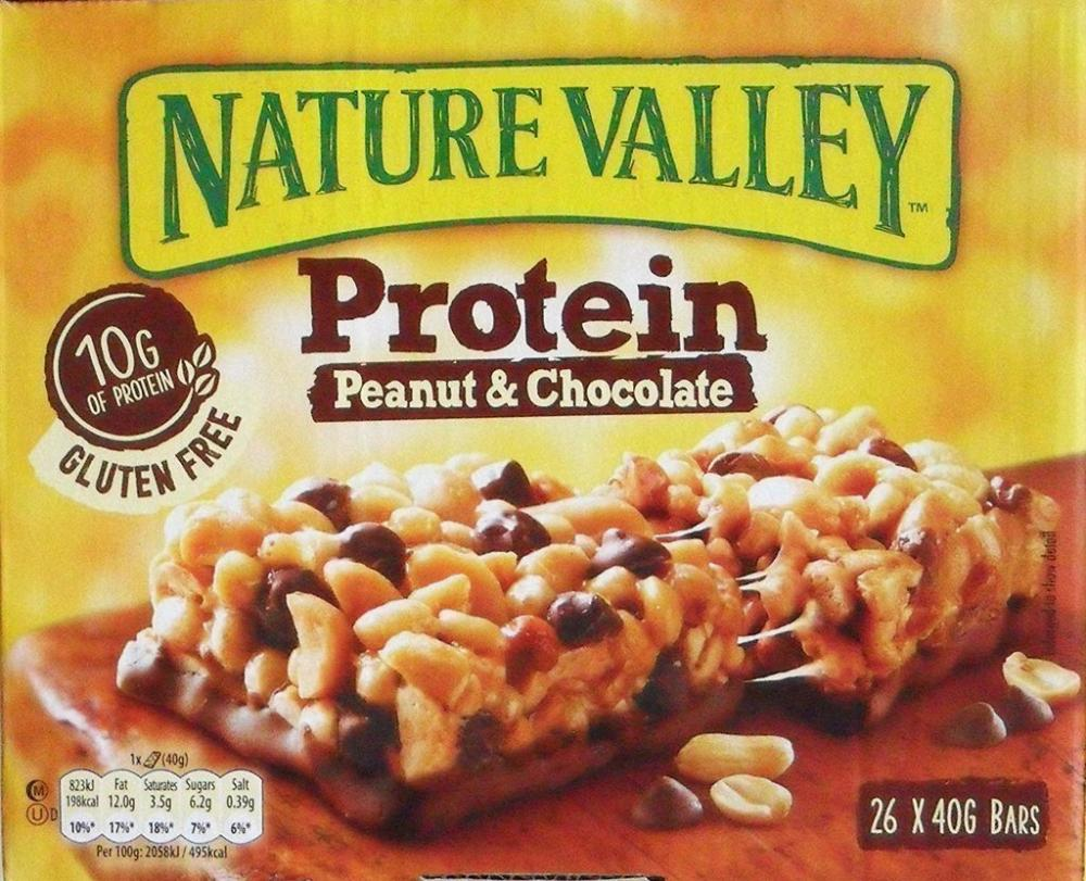 SUNDAY SPECIAL CASE PRICE  Nature Valley Protein Peanut and Chocolate 40g x 26