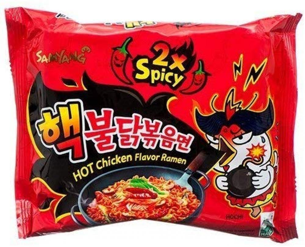 Samyang Hot Chicken Flavour Ramen Noodles 140g