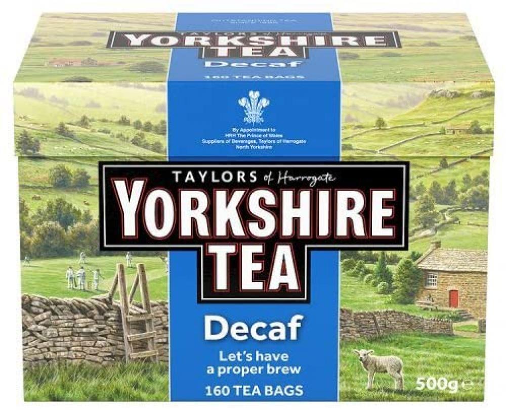 Yorkshire Tea Decaffeinated Tea 500g