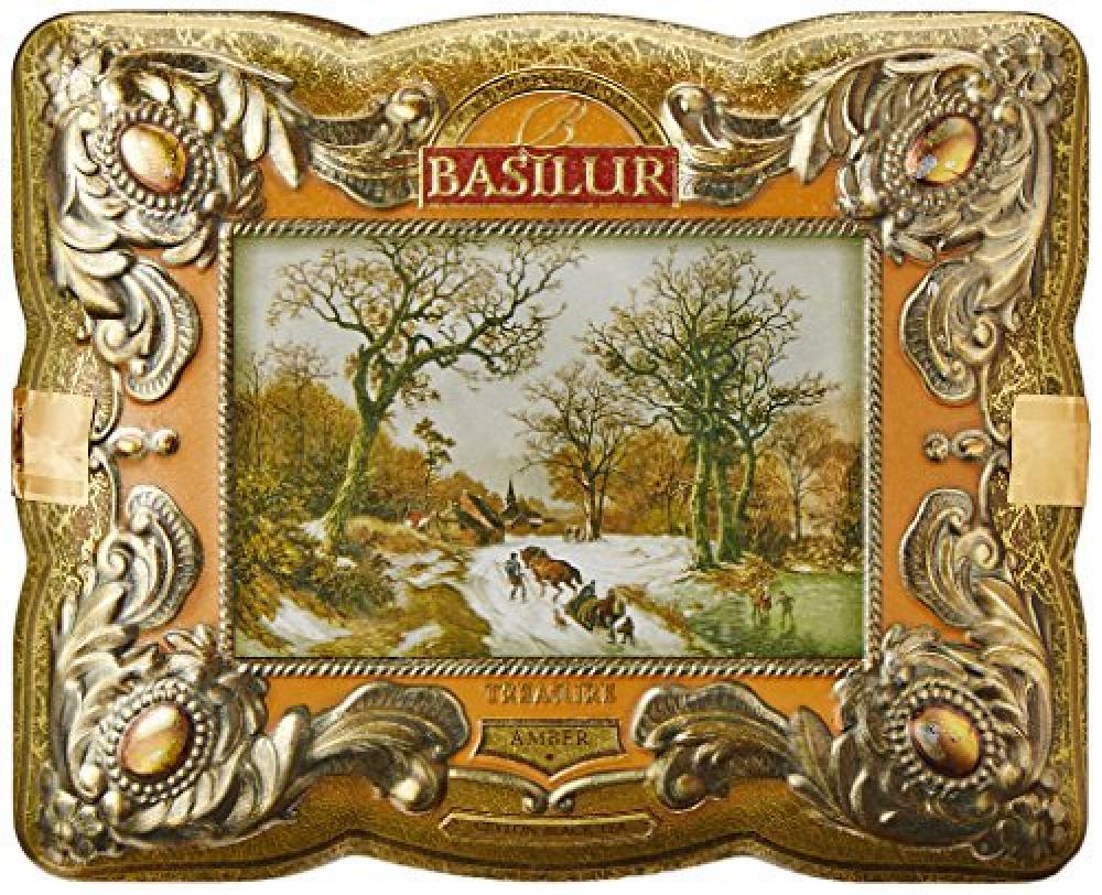 Basilur Tea Treasure Chest Amber Loose Tea 100g