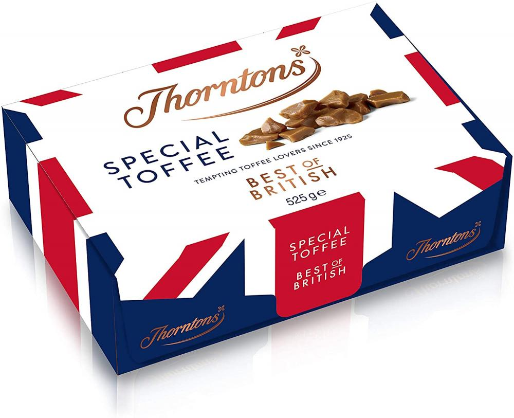 Thorntons Chocolate Best of British Toffee 525 g