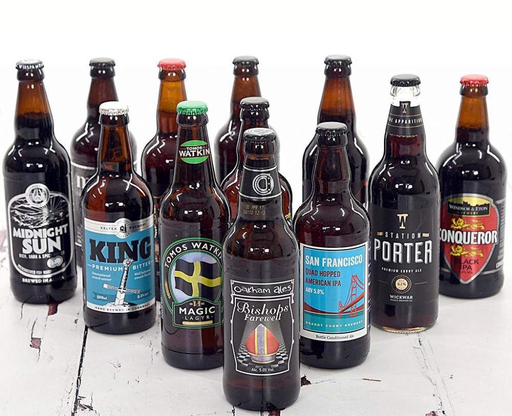 Best of British Beer Beers Above 5 Percent Lucky Dip 500ml