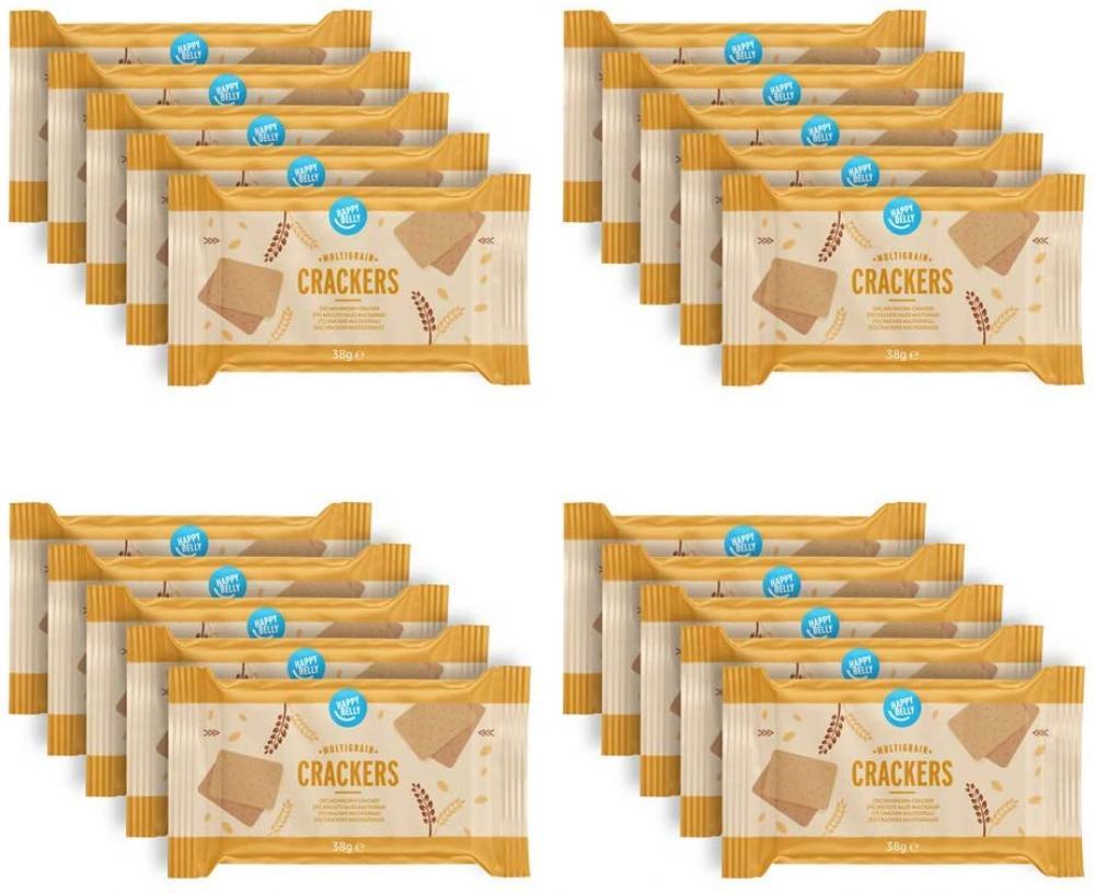 SALE  Happy Belly Spelt Cracker 5-Grain 190 g