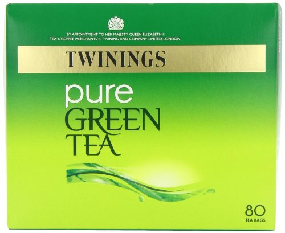 Twinings Pure Green Tea 80 bags Damaged Box