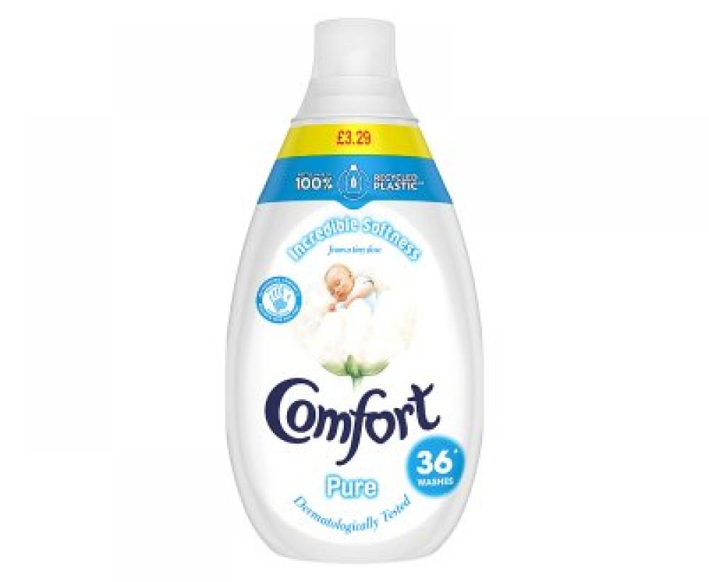 Comfort Pure Concentrate Fabric Conditioner 540ml