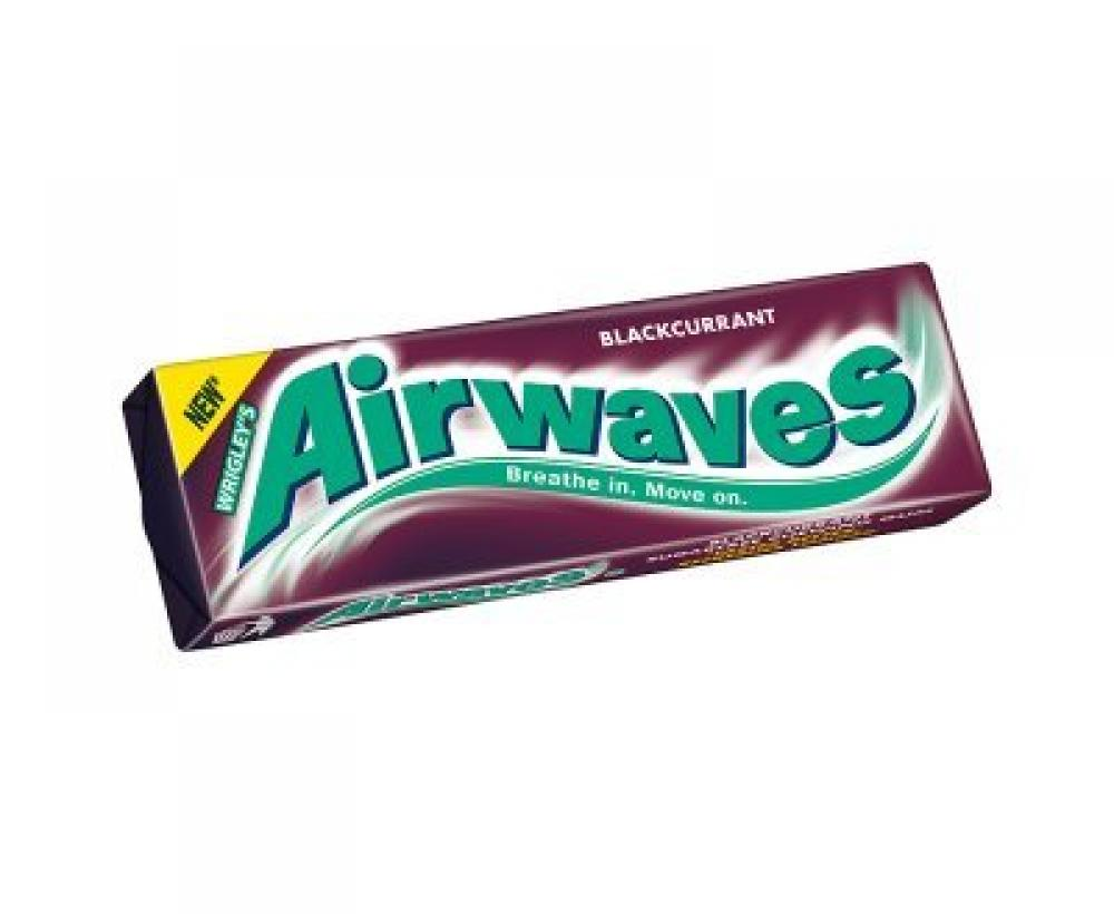Wrigleys Airwaves Blackcurrant 14g