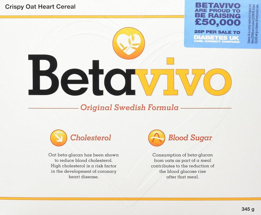 SUMMER SALE  Betavivo Crispy Oat Hearts 23 g