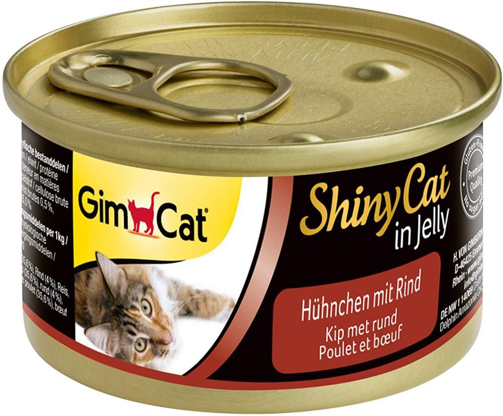 GimCat ShinyCat in Jelly Chicken 70g