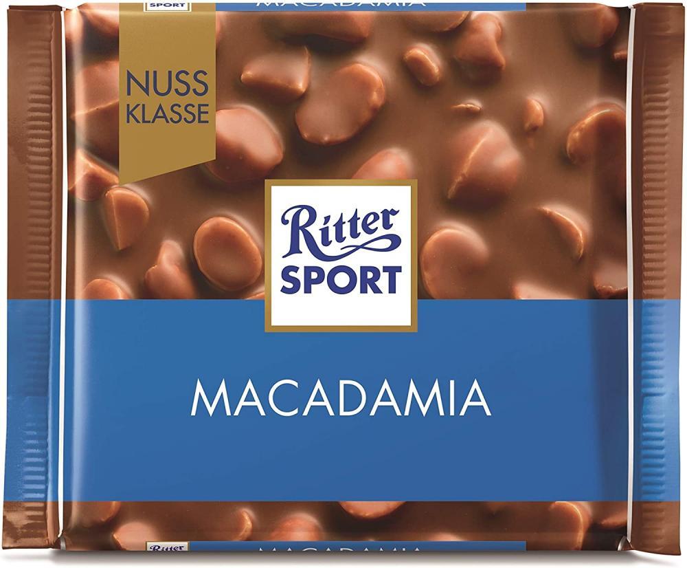 Ritter Sport Nut Class Macadamia Chocolate 100 g