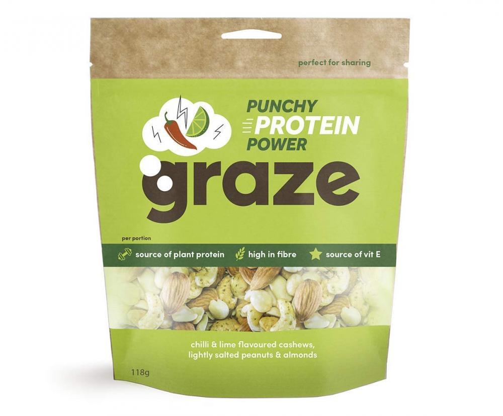 Graze Punchy Protein Power 118g