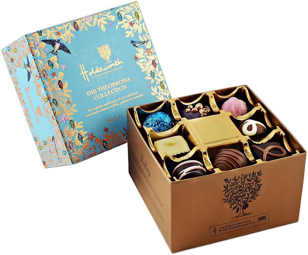 Holdsworth Chocolates Theobroma Collection Box 200 g