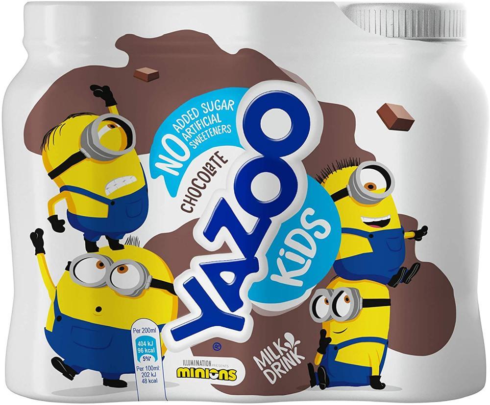 Yazoo Kids No Added Sugar Chocolate Milk Drink 200ml