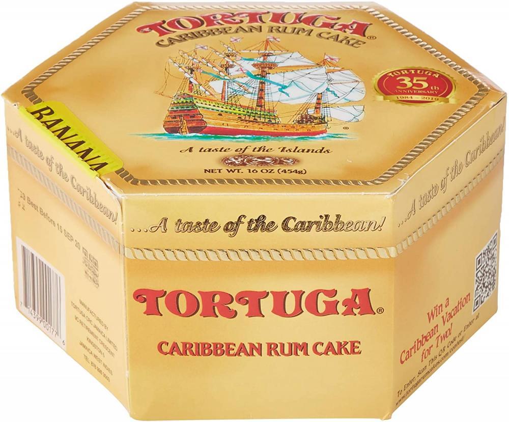 Tortuga Rum Cake Banana Flavour 454g