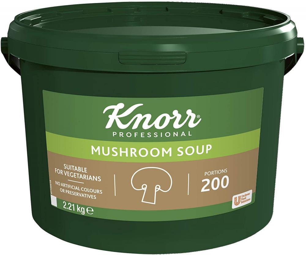 SALE  Knorr Professional Mushroom Soup Mix 200 Portions 2.21 kg