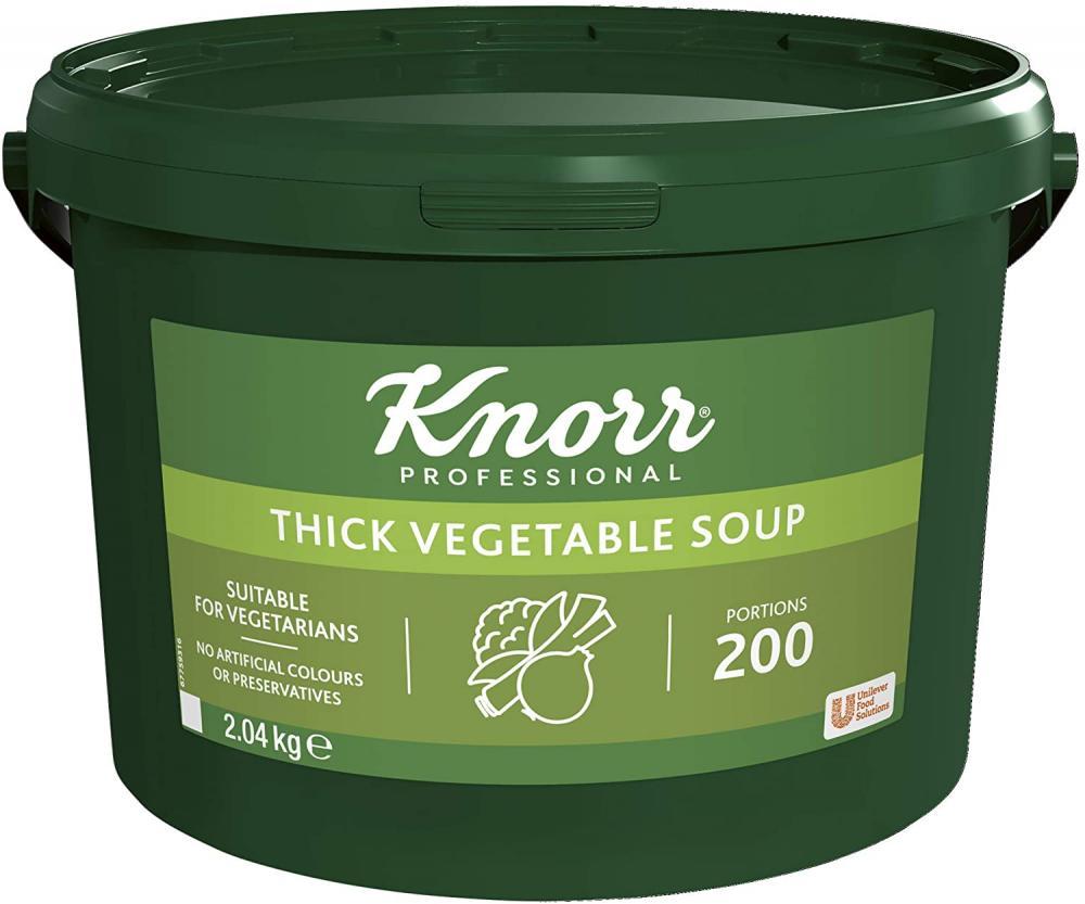SALE  Knorr Professional Thick Vegetable Soup 2.04 kg