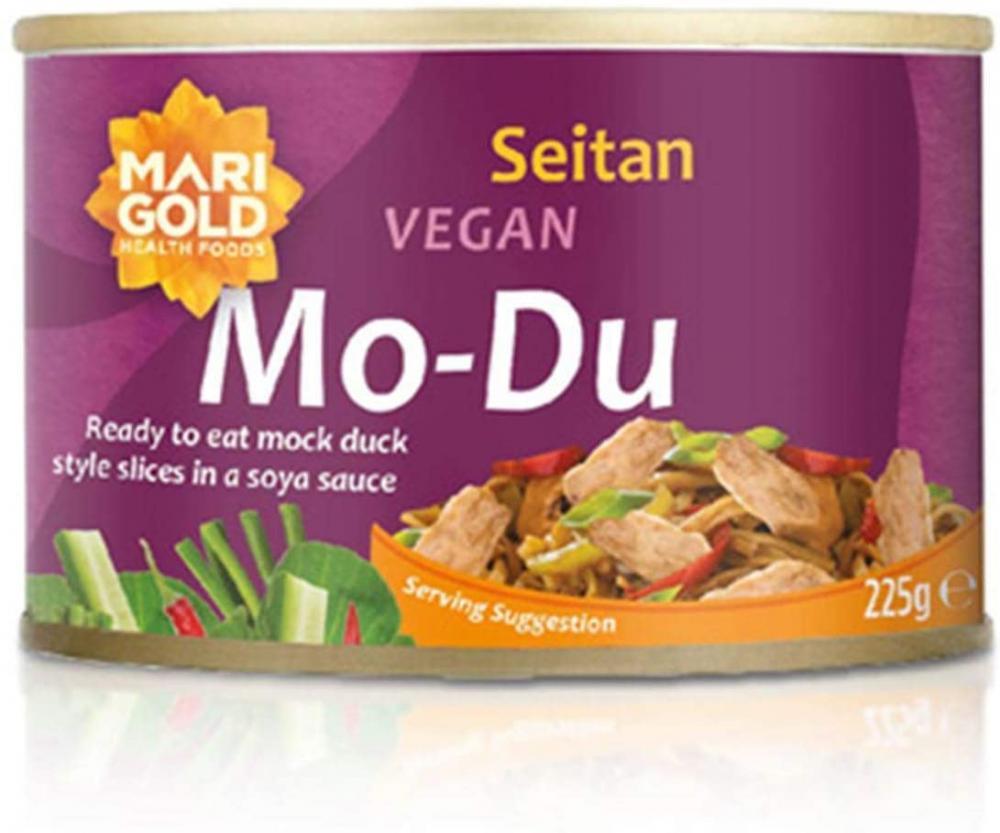 Marigold Mo-Du Braised Seitan Slices 225 g