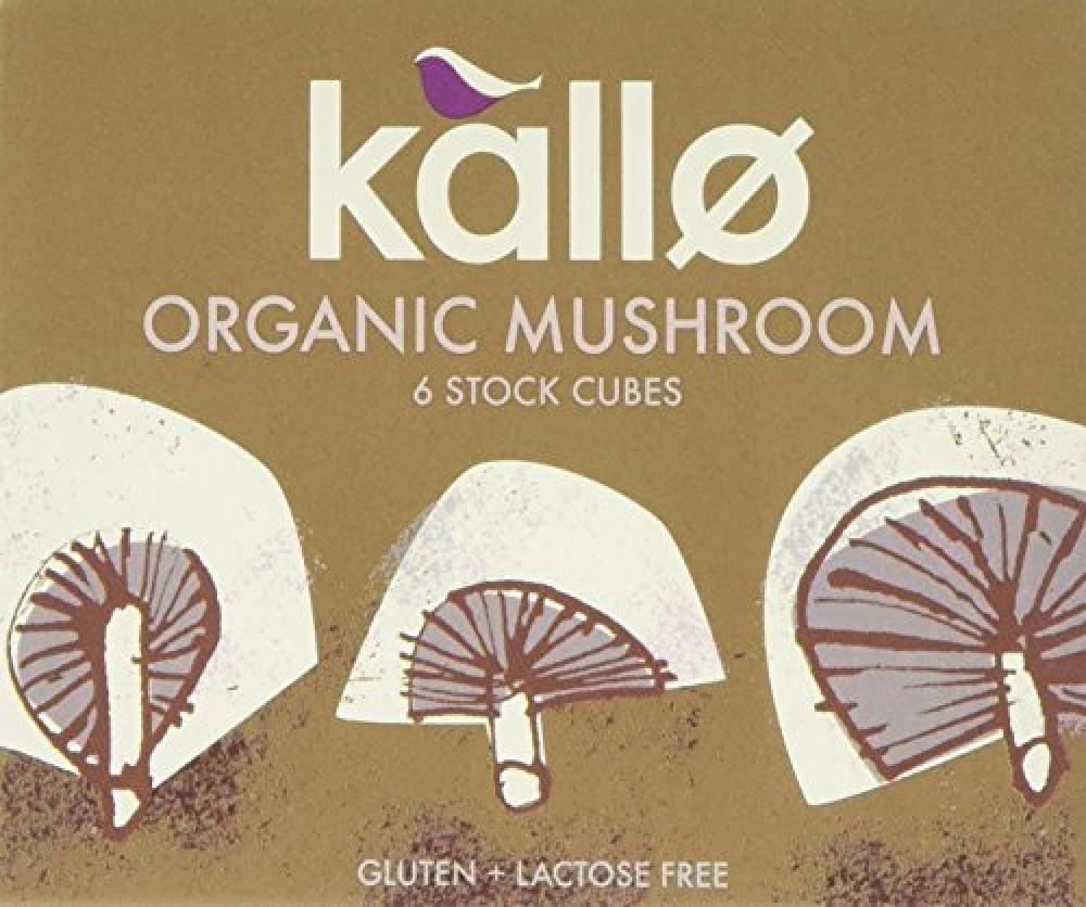 Kallo Organic Mushroom Stock Cubes 66g
