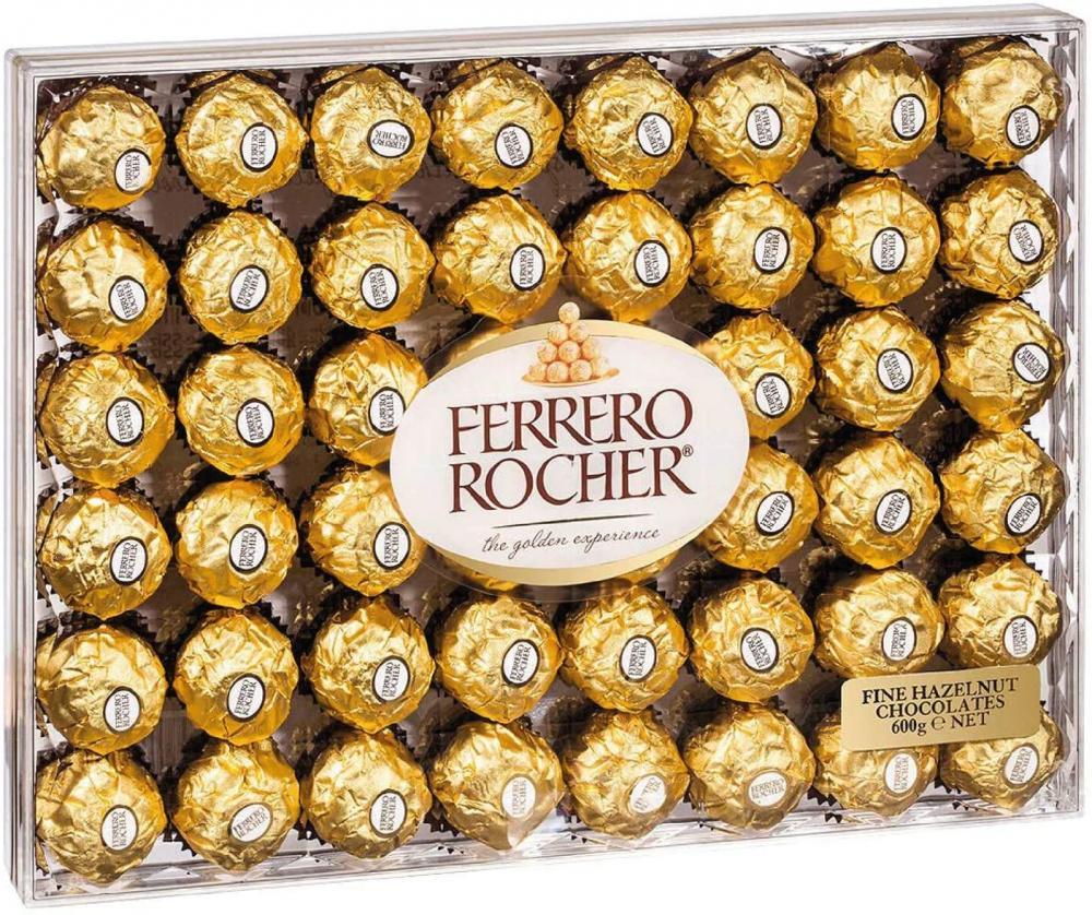 Ferrero Rocher The Golden Experience 48 Pieces 600 g